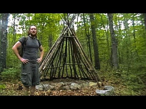 Building a Long Term Primitive Shelter - Part 1 (Wiki)