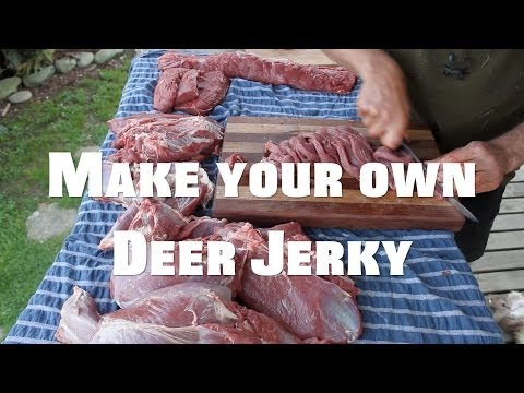 make your own venison jerky
