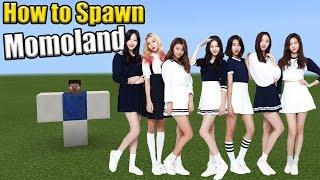 How to Spawn Momoland | Minecraft PE