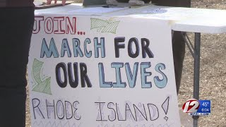 March for Our Lives demonstration held in Providence
