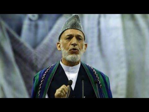 Afghan President Blames U.S.
