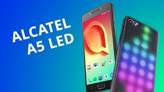 Alcatel A5 LED [Review en español / Análisis]