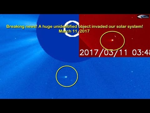 Breaking news! A huge unidentified object invaded our solar system! March 11, 2017
