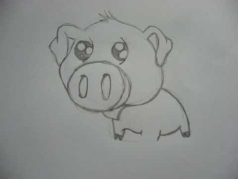 Comment dessiner des animaux mignon etape par etape - Comment dessiner un chat trop mignon ...