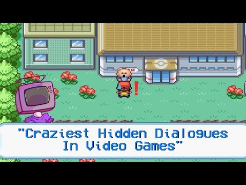10 Crazy Hidden Dialogue Messages In Video Games
