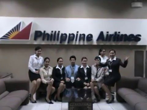 Making of a  flight attendant workshop (Philippine Airlines)