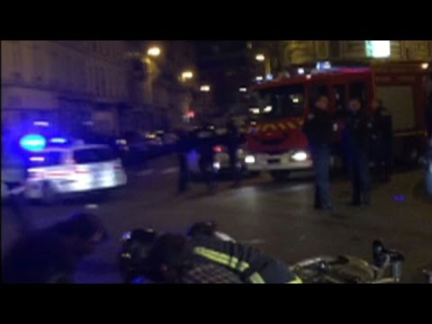 Scene after Paris attack on Cambodian restaurant