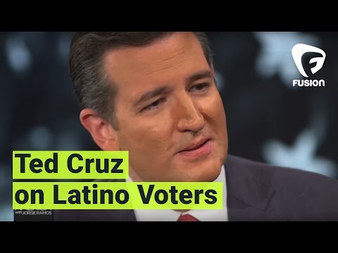 Jorge Ramos asks Ted Cruz: Do you have a Latino problem?