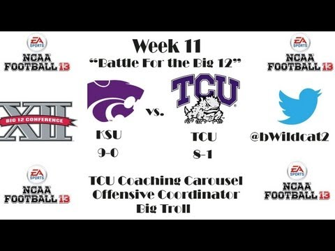 NCAA Football 13- Big Troll Coaching Carousel ft. TCU Ep. 21