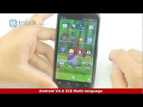 ZTE V970 Open package reviews 3G WCDMA Android4.0 Dual Core 1.0GHz Dual Sim 4.3