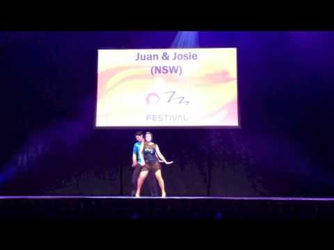 MODERN DOMINICAN BACHATA Show - Juan & Josie