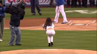 Tiffany Hwang Throws Worst First Pitch Ever