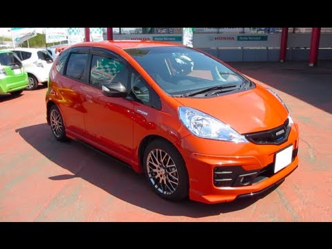 Jazz 2012 Mugen 2012 Honda Fit Hybrid rs Mugen
