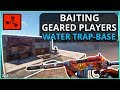 TRAPPING A FULL GEAR IN OUR WATER TRAP BASE Rust Trap Base Survival Gameplay mp3