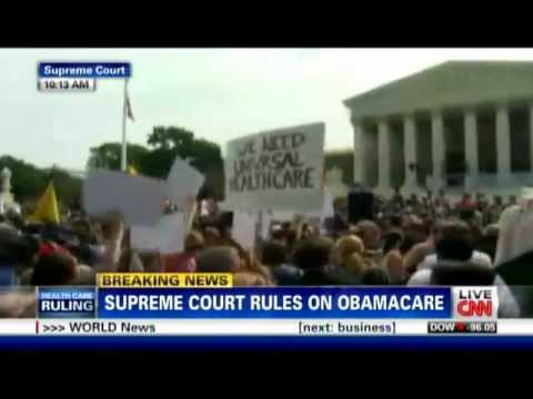 COMPLETE TRAIN WRECK: CNN Health Care Ruling FAIL, Full Video