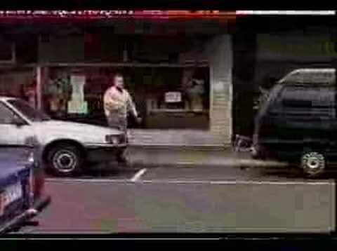 Pizza Delivery Guy Gets Hit by a Car