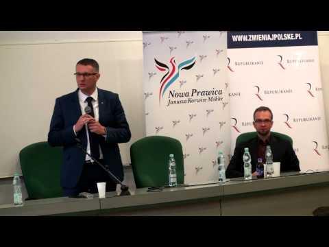 Przemysław Wipler W Krakowie (UP)