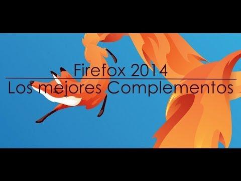 Los mejores complementos para Firefox 2014