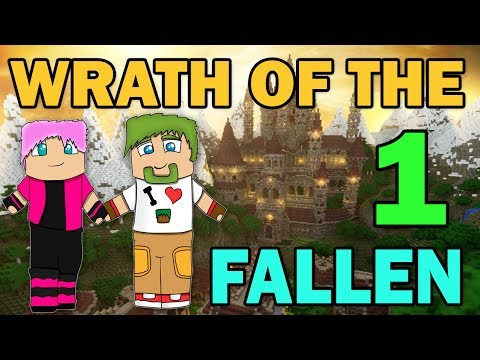 ч.01 Minecraft Wrath of the Fallen Капитан Хук