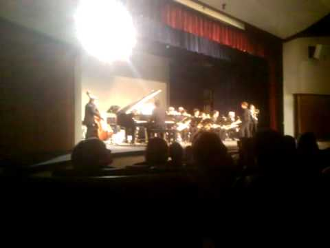 Mt Hood Community College Jazz Band Preformance at Milwaukie High School Part 4
