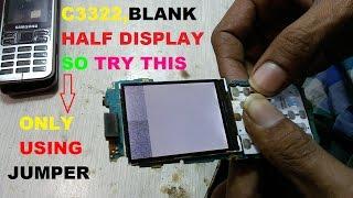 samsung C3322 display problem | samsung c3322 white display,blank display problem 100% tested