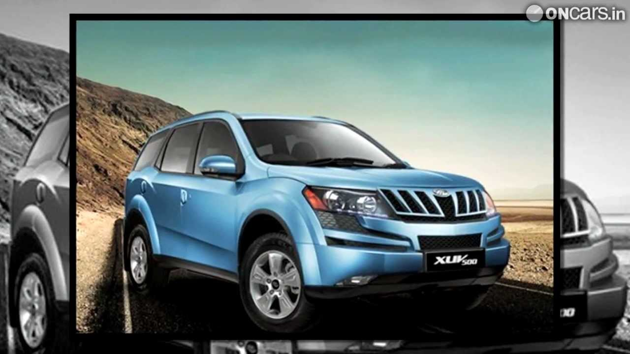 Mahindra Xuv500 Launched In New Arctic Blue Colour Youtube