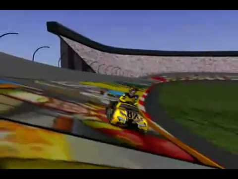 Griddly Headz Nascar Racing Game