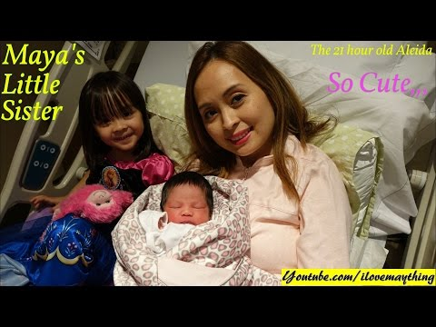 Birth Labor and Delivery: Our Newborn Baby Girl Aleida... Hulyan and Maya's Baby Sister