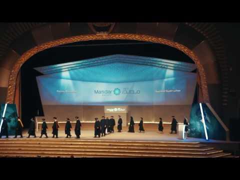 Masdar Institute Commencement 2016
