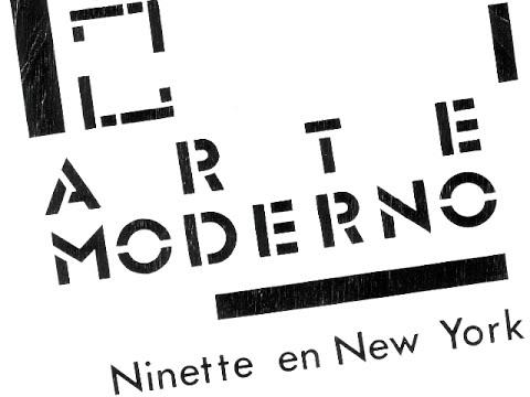 ninette en new york. arte moderno