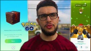OPENING MY FIRST MYSTERY BOX! (Pokémon GO)