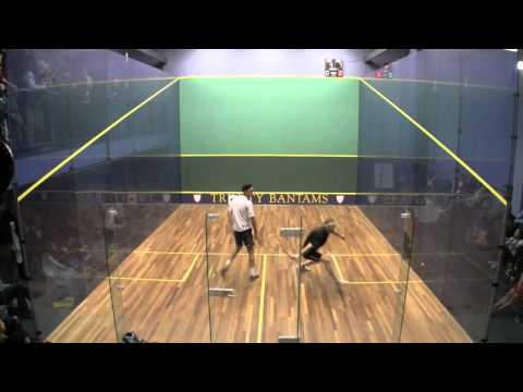 Men's College Squash: 2013 Pool Trophy Final (Game 3)