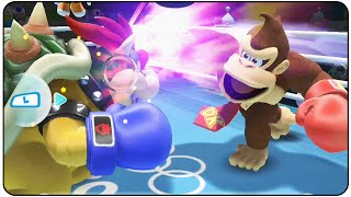 Mario and Sonic at the Rio 2016 Olympic Games (Wii U) - All Characters Boxing Special