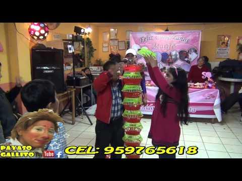 show infatil Animadora y el Payaso Gallito contrato:959765618