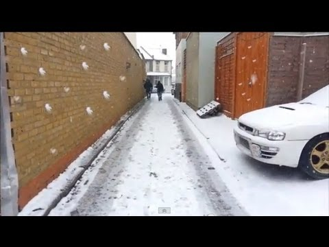 Heavy Snow fall in London 2013 : SYED's Tourism