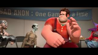 Wreck-It Ralph - Wreck-it Ralph Official Officiële Teaser Trailer | Walt Disney | HD 1080p Nederlands Gesproken
