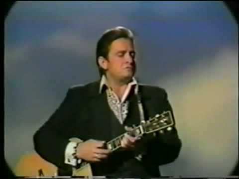 Johnny Cash Sings how Great Thou Art video
