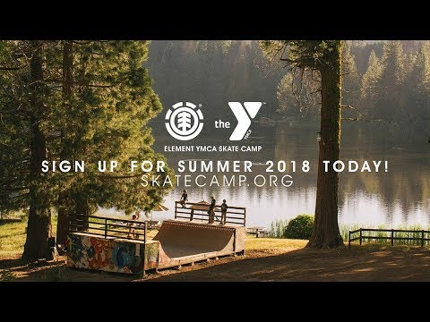 Element YMCA Skate Camp 2018!