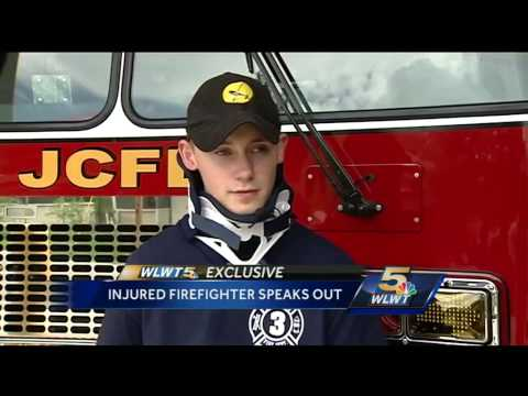 Off-duty volunteer firefighter thrown, injured while responding to fire