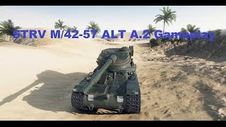 World of Tanks 9.16 New Swedish Tank STRV M/42-57 ALT A.2 Gameplay 8 kills