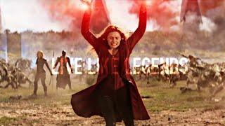 Download Lagu Wanda Maximoff - Live Like Legends (INFINITY WAR SPOILERS!) Gratis STAFABAND
