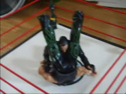 wwe muñecos undertaker vs shanw michaels