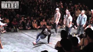 Immigrandz vs. La Smala | Break In The City 2014