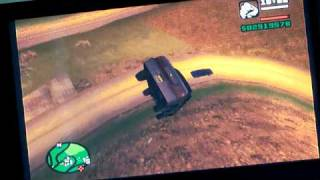 GTA San Andreas Zero Gravity Car PS2 ( not the flying car cheat)