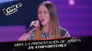 The Voice Chile | Josefa Serrano - Feeling Good