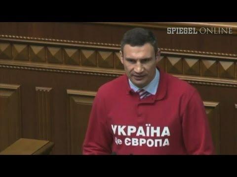 Zweite Karriere: Vitali Klitschko will Präsident der Ukraine werden