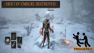 Dark Souls 3 Gank Squad Destroyed - Stream Highlight