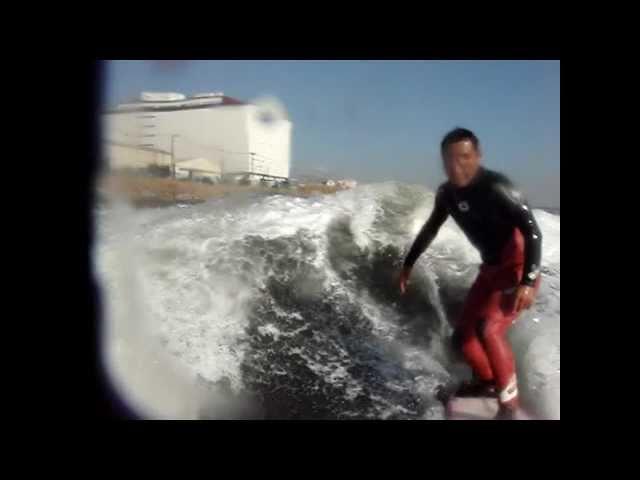 ボートサーフィン東京湾 プロサーファー ダイジェスト 2011前編