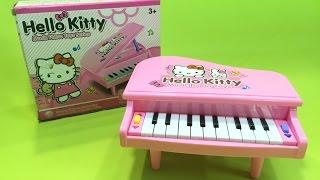 đồ chơi đàn piano hello kitty - piano toy hello kitty