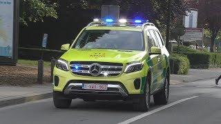 Interventie [Nieuwe] Mercedes GLS 4x4 MUG Heilig-Hart Ziekenhuis Lier